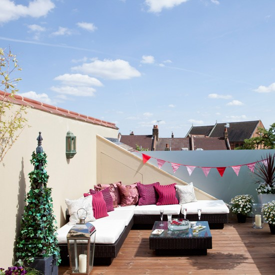 Summery Roof Terrace City Garden Ideas