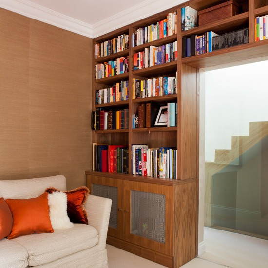 modern home library home office ideas homes gardens