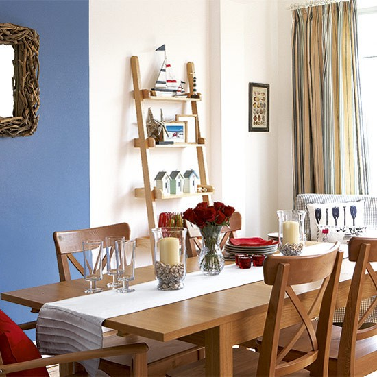 Dining table | Seaside-style | Dining room makeover | Ideas gallery | Style at Home | Housetohome