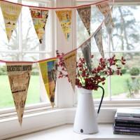 Bunting display - 10 ideas
