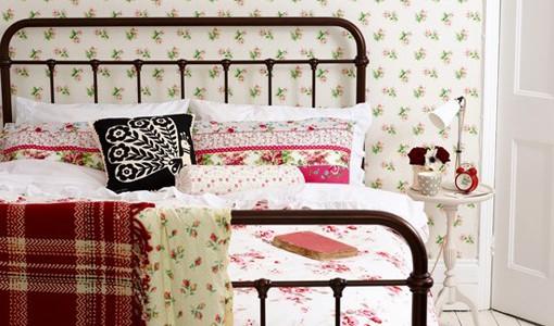 Sarung Bantal Hiasan Dekorasi Bilik Tidur Ala Vintage