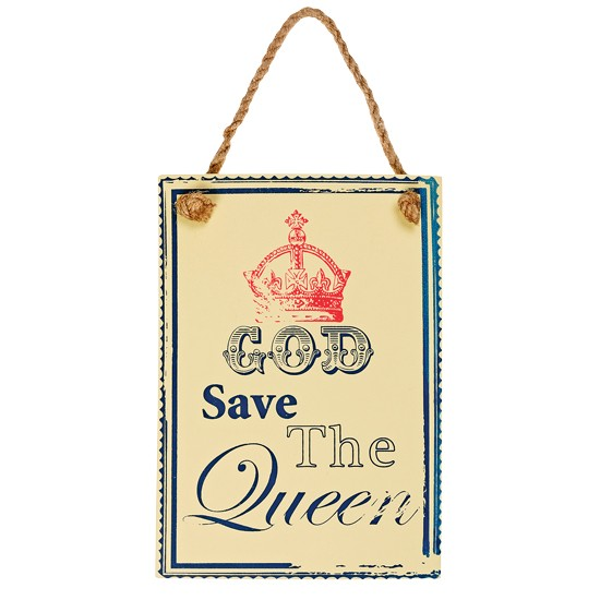 God Save the Queen sign from BHS | Jubilee Home Accessories 10 of the best | Jubilee | Home accessories | Housetohome