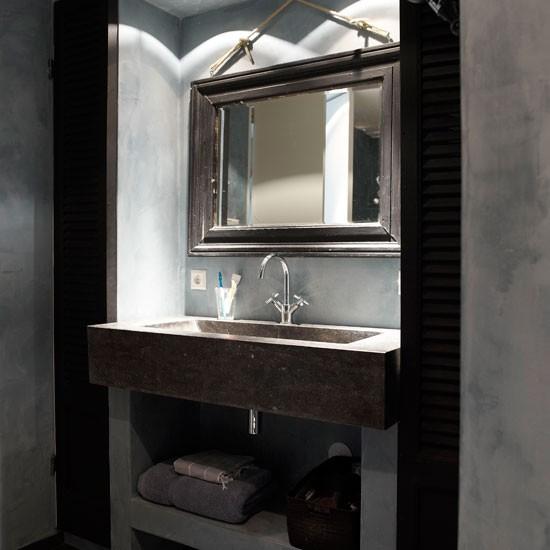 Modern Rustic Bathroom Decorating Ideas