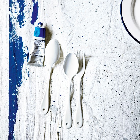 Choose simple cutlery | Design ideas - St Ives | Coastal look | Decorating ideas | Homes & Gardens | Housetohome | PHOTOGALLERY