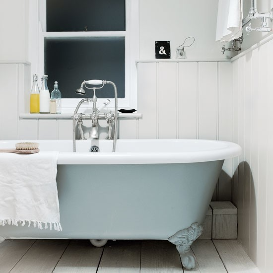 Bathroom | Take a tour around a Cornish cream house on the sea | House tour | Livingetc | PHOTO GALLERY