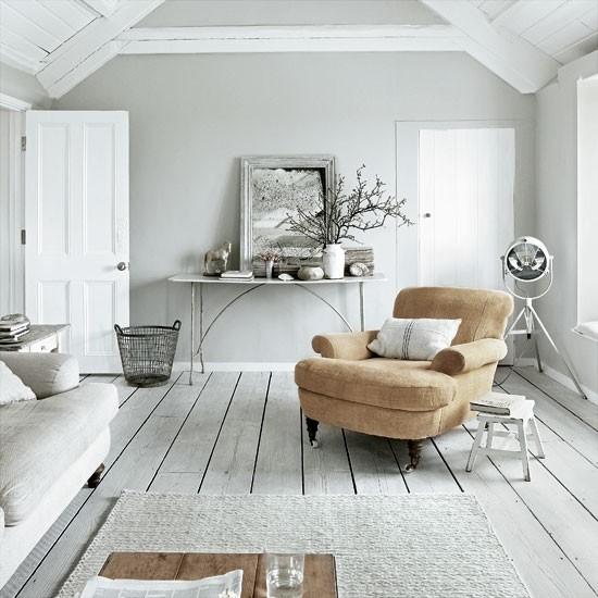 Living room | Take a tour around a Cornish cream house on the sea | House tour | Livingetc | PHOTO GALLERY