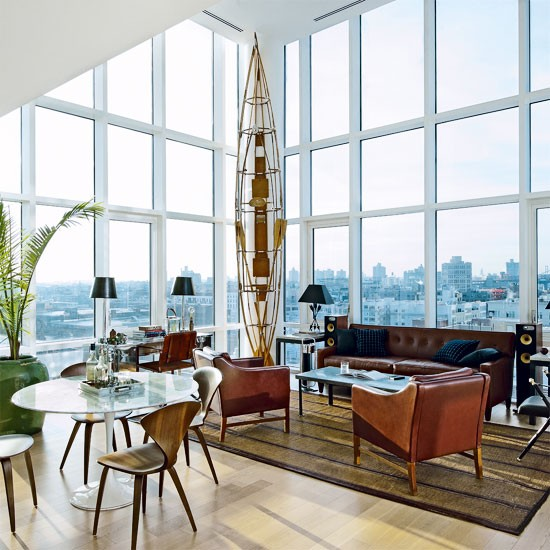 Be Inspired By Vintage Chic New York Penthouse