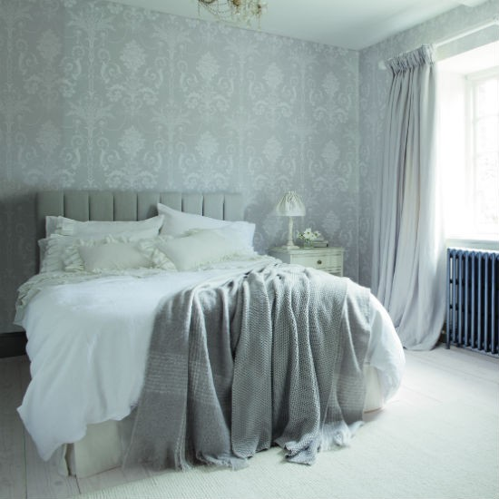 Bedroom wallpaper ideas for Grey wallpaper bedroom