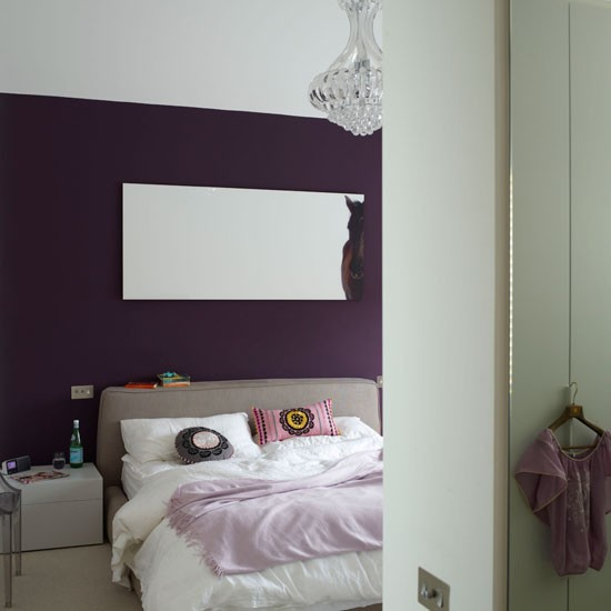 Glamorous purple bedroom | Bedroom design | housetohome.