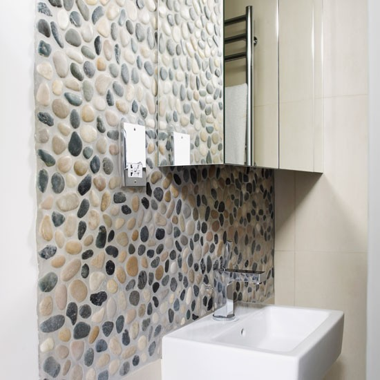 Shower room | Refurbished canalside London home | House tour | Homes & Gardens | Housetohome | PHOTOGALLERY