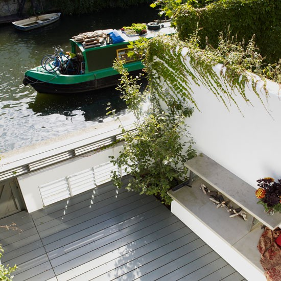 Waterside views | Refurbished canalside London home | House tour | Homes & Gardens | Housetohome | PHOTOGALLERY
