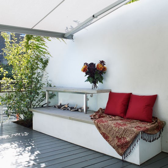 Garden | Refurbished canalside London home | House tour | Homes & Gardens | Housetohome | PHOTOGALLERY