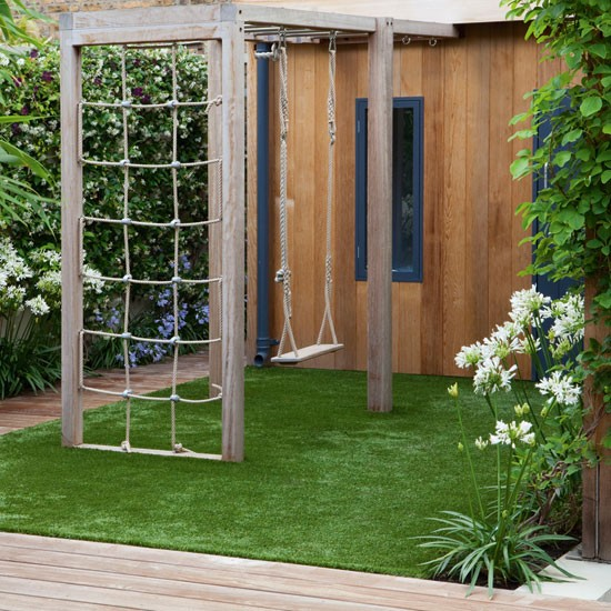 Modern garden pictures house to home for Children friendly garden designs