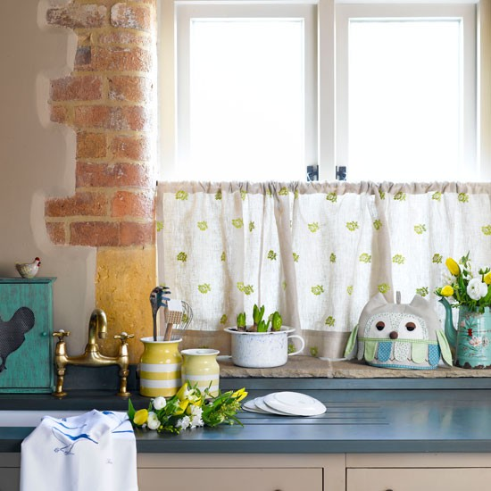 Dress the window in style | kitchen | country | Country Homes & Interiors
