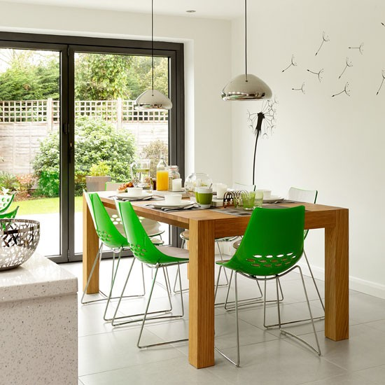 Fresh family dining area modern dining room ideas for Modern dining area ideas