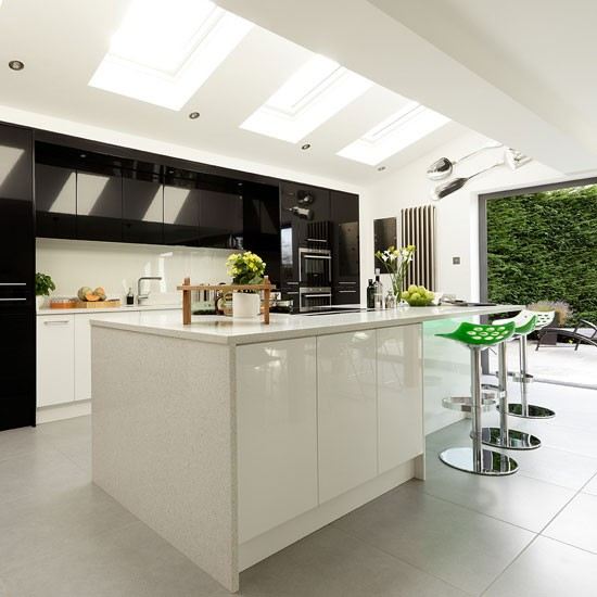 Modern kitchen extension open plan kitchen ideas for Modern kitchen company
