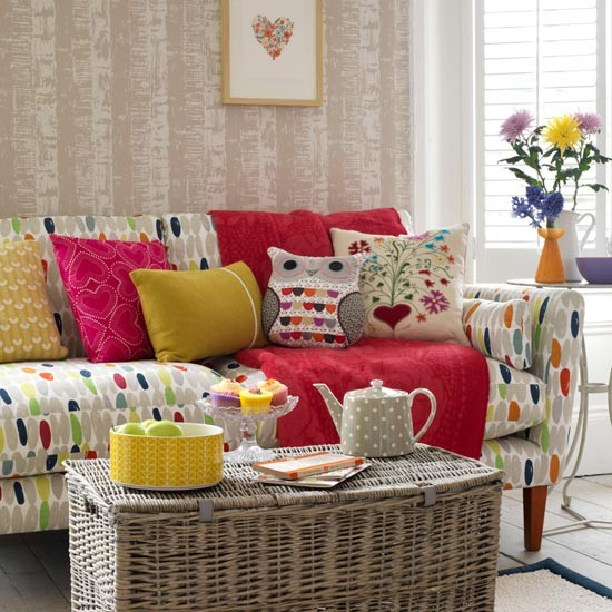 Scandi-style living room Living room decorating ideas housetohome ...