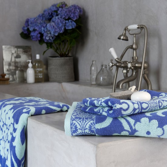 Brighten up your bathroom with an Amy Butler towel at Dalani