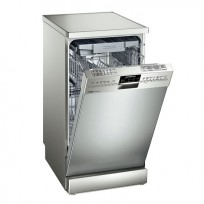 A dishwasher is less wasteful of water than washing by hand - so that's one good excuse for buying one!