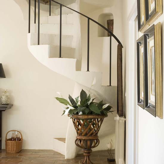 Hallway House Tour French Country House Housetohome