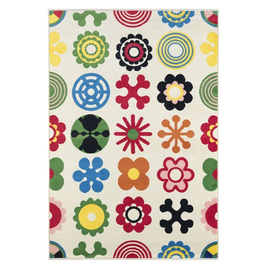Lusy Blom rug from Ikea | Children's rugs | rugs | children's bedroom | soft furnishings | PHOTO GALLERY | 25 Beautiful Homes | Housetohome