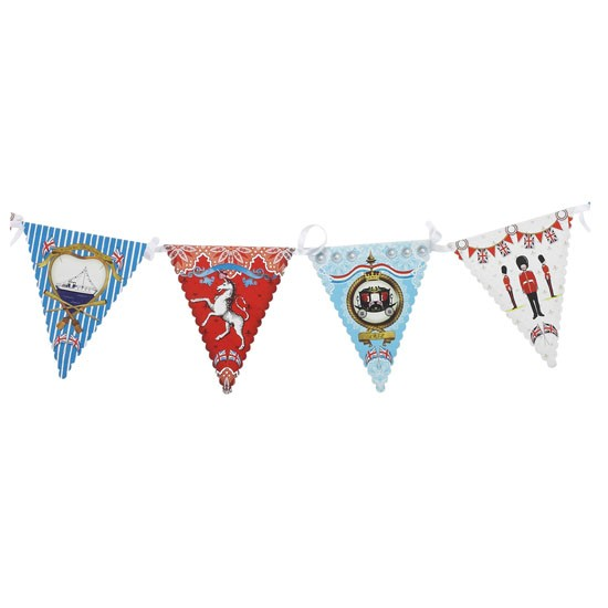 Jolly Jubilee Bunting from The Contemporary Home | Diamond Jubilee home accessories | Home accessories | PHOTO GALLERY | 25 Beautiful Homes | Housetohome