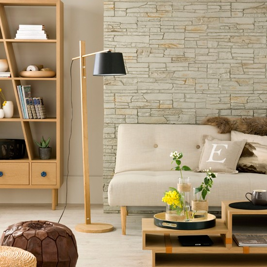 Neutral living room | Modern living room designs | Ideal Home | Housetohome