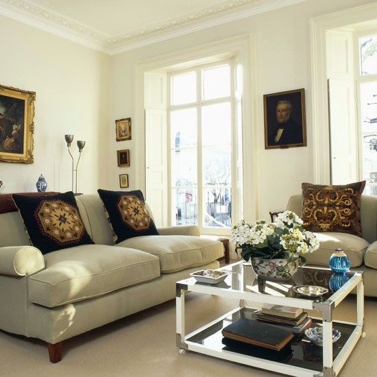 Traditional Living Room Summer Living Room Ideas