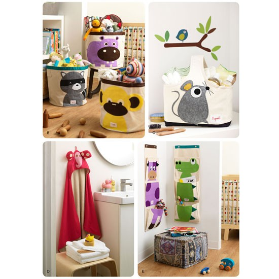 Add a quirky twist in your kid's room with these funky designs