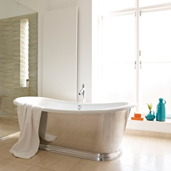 Modern minimalist bathroom | Sleak bathroom designs | Livingetc | Housetohome