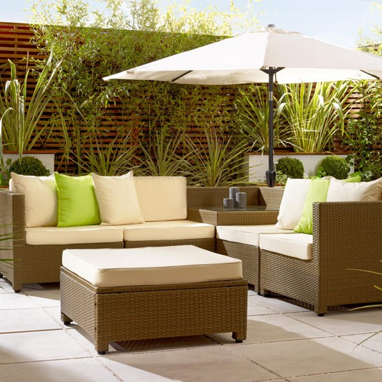 Style at Home loves the stylish outdoor furniture from Living It Up