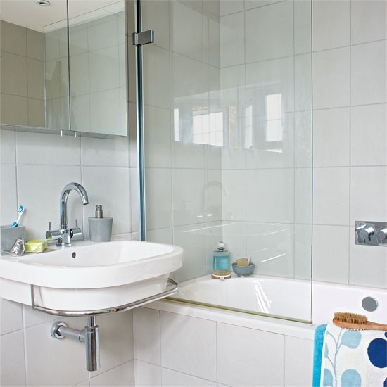 En suite bathroom ideas for Modern small ensuite