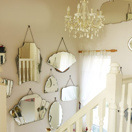 Mix and match mirrors | Vintage decorating - 10 ideas | IDEAS GALLERY | Style at Home | Housetohome