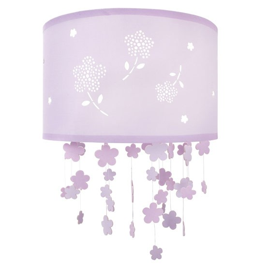 girl 39 s flower ceiling shade laura ashley children 39 s