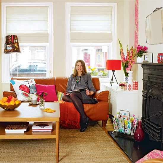 Bright living room | Retro home | House Tour | PHOTO GALLERY | Style At Home | Housetohome.co.uk