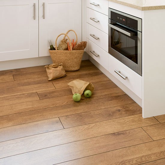 Uk flooring direct harvest oak laminate wood flooring for Kitchen flooring