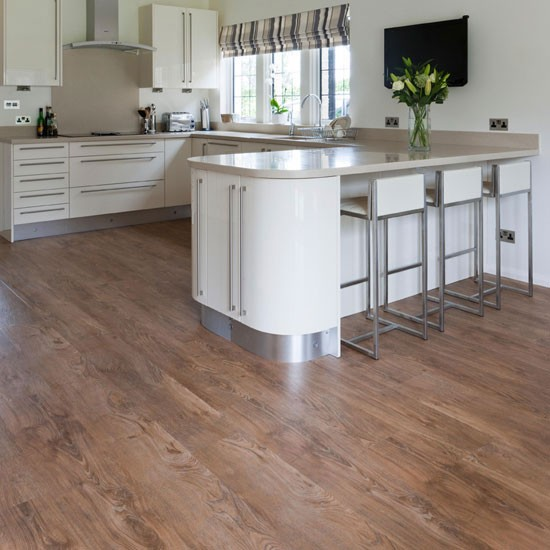 Harvey maria natural oak vinyl wood flooring for Vinyl floor ideas for kitchen