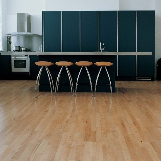 Junckers solid beech boards wood flooring housetohome
