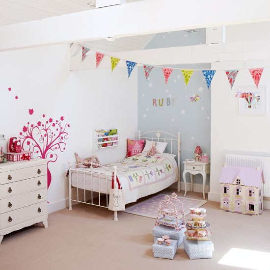Wall stickers for girls bedrooms uk Bedrooms for girls