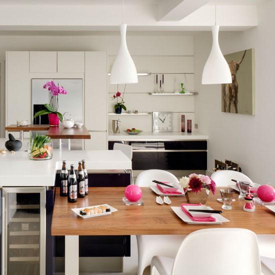 Streamlined Kitchen Diner Modern Kitchen Ideas