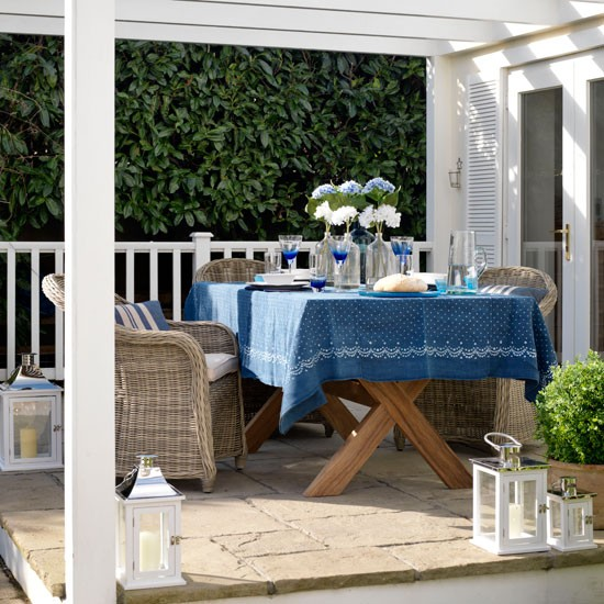 Outdoor dining area | Country garden ideas | Country Homes & Interiors | Housetohome