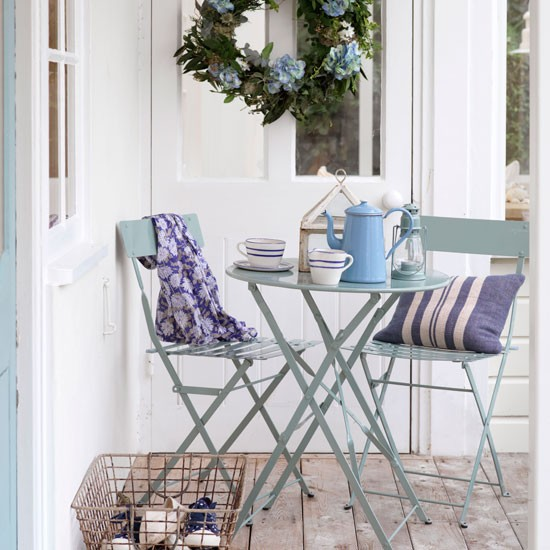 Small outdoor dining area | Outdoor living | Garden | Design | PHOTO GALLERY | Housetohome.co.uk