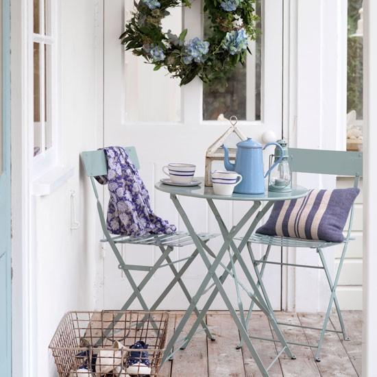 Small outdoor dining area   Outdoor living   Garden   Design   PHOTO GALLERY   Housetohome.co.uk