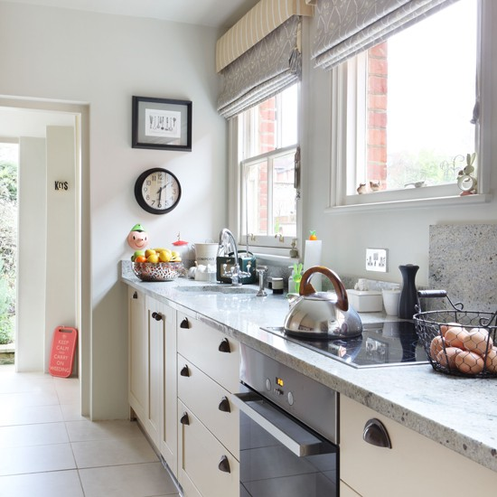 Muted colour kitchen Kitchen designs with grey walls