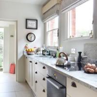 Soft grey kitchen