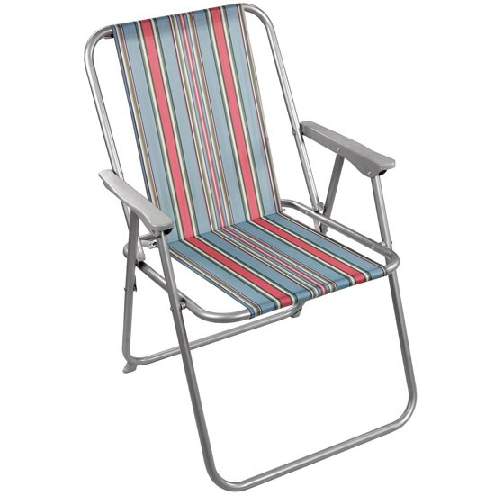 Canvas stripe folding chair from Cath Kidston