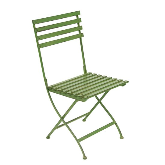 wooden garden chairs fold up white and green ebay ellister portland