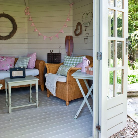 include mix and match furniture garden summer house