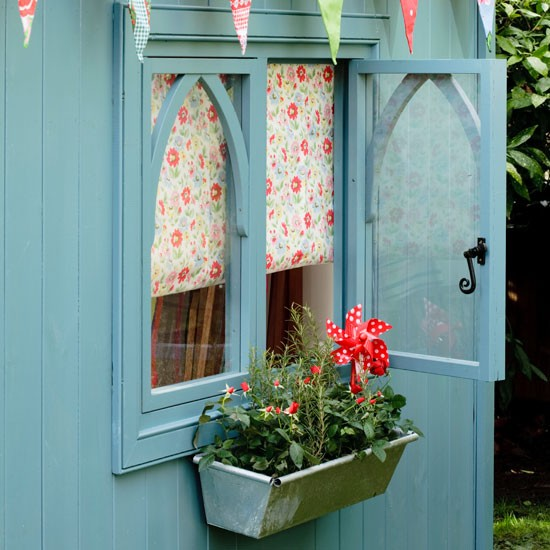 Welcoming window | Summerhouse style - 10 ideas | PHOTO GALLERY | Housetohome.co.uk