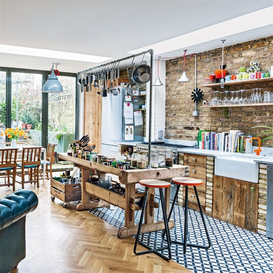 Kitchen-diner | Be inspired by an eclectic Victorian flat in north London | Victorian house | House Tour | PHOTO GALLERY | Livingetc | Housetohome